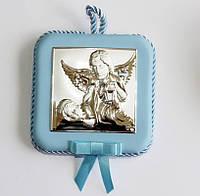 Детская картинка в серебре Ангелочки, фото 1