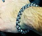 Серебряный мужской браслет Лео, фото 5