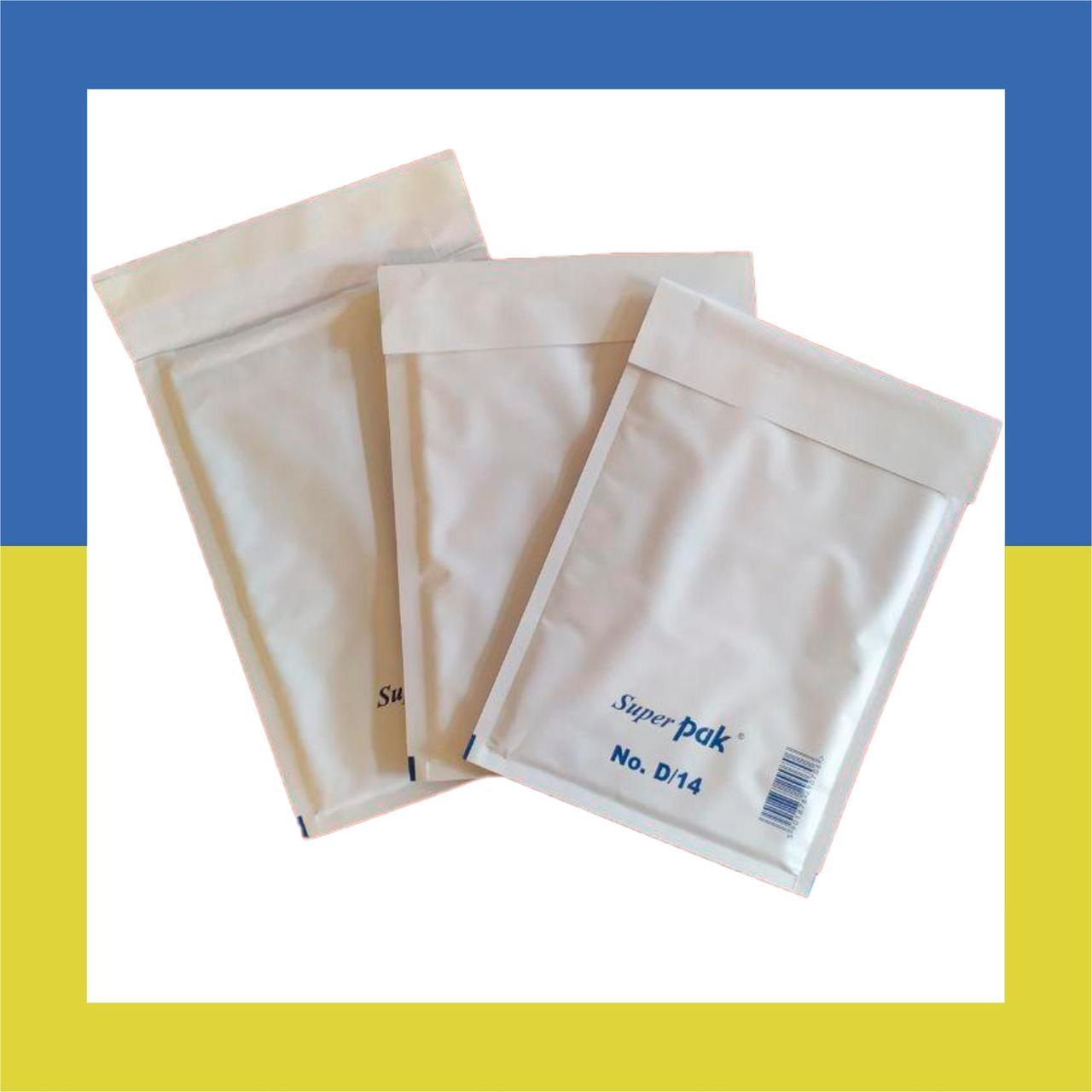 Конверт Бандерольный Airpoc №14 (180х260) белый