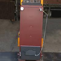 Котел шахтний твердопаливний тривалого горіння 17 кВт двухходовий