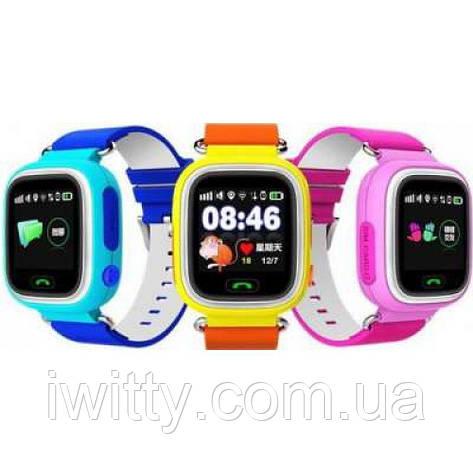 Смарт-часы GPS, Smart Baby Watch Q50 (зеленый), фото 2