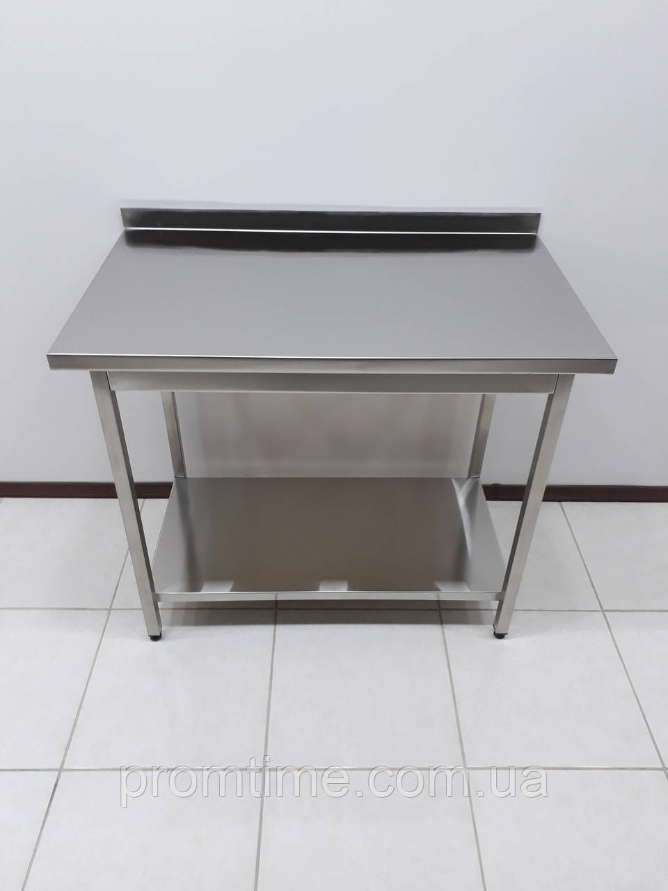 Стол производственный изнержавеющей стали 1000х600х850