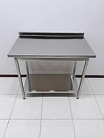 Стол производственный изнержавеющей стали 1000х600х850, фото 1