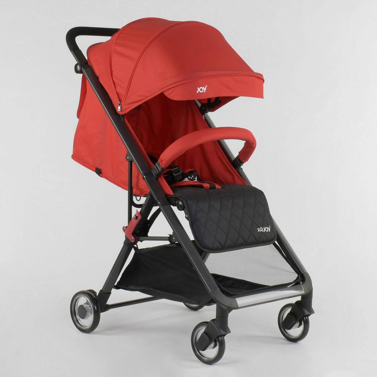 Детская прогулочная коляска JOY Kamelia 80747 Красная футкавер