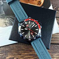 Часы мужские кварцевые Mini Focus MF0020G Gray-Black-Red AB-1095-0002