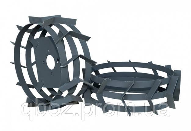 Грунтозацепы 380х150 из полосы (без втулки), фото 2