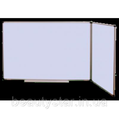 Школьная доска магнитная маркерная трехповерхностная 2250х1000 мм