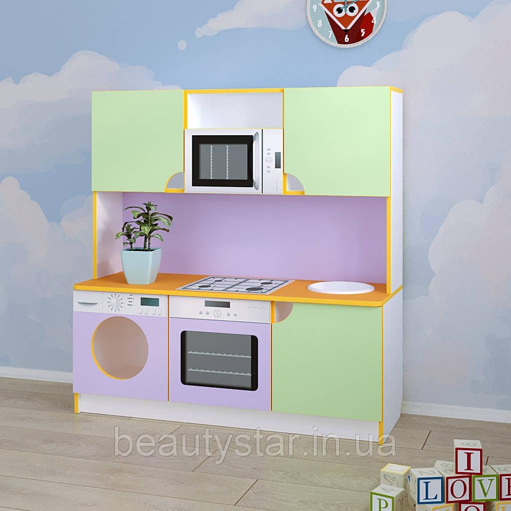 Игровая мебель для детского сада кухня «Малютка»