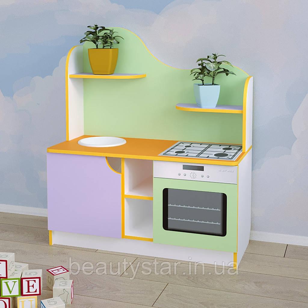 Игровая мебель для детского сада кухня «Хозяюшка»