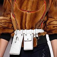 Лучший подарок для девушки!Модные тенденции 2020 года!Реплика Fendi!Сумка клатч на пояс 2шт!