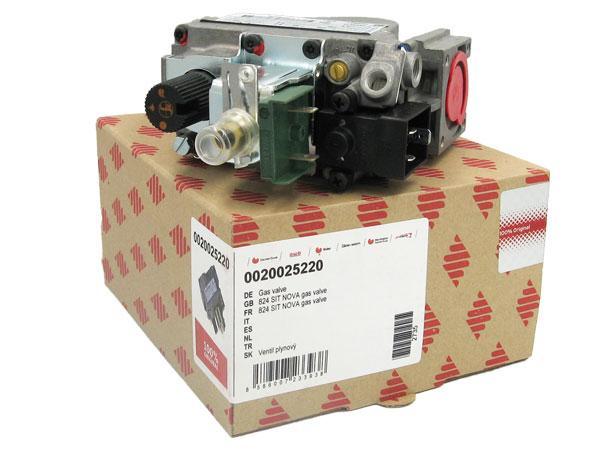 Газовый клапан SIT 824 Nova Protherm для котла Медведь PLO 20-50 кВт. -0020025220