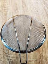 Сито шумовка с сеткой из нержавеющей стали, диаметр 22 см, фото 2