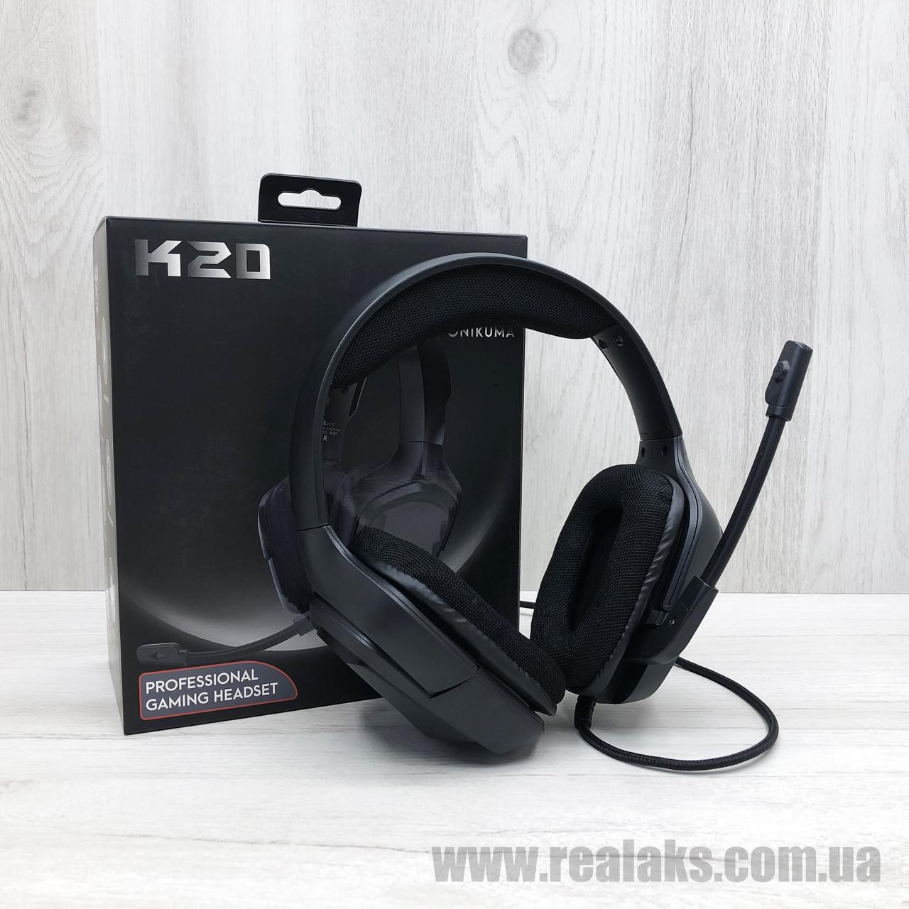 Наушники ONIKUMA K20 (Black)