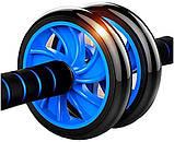 Фитнес колесо Double wheel Abs health abdomen round, фото 2