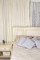 Комплект штор в стиле Модерн Lace 02 Молочный, 275*145 см (2 шт.),(MG-MS-300602)