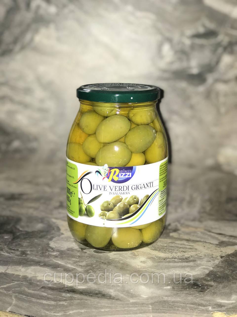 Оливки гіганти Olive Verdi Giganti