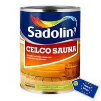Sadolin CELCO SAUNA 2.5л лак для бани Садолин Селко Сауна
