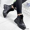 Ботинки женские Luis черные 8568