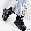 Ботинки женские Wret черные 8704