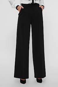 Деловые женские брюки прямые черные