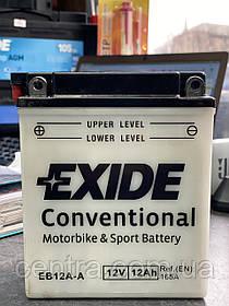 Мото аккумулятор EXIDE  EB12A-A
