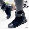 Ботинки женские Helena черные 8760 зима