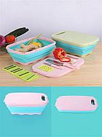Кухонный набор 9 в 1: Овощерезка, терка, разделочная доска, нож, дуршлаг, фото 1