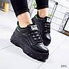 Ботинки женские Selena черный 8916