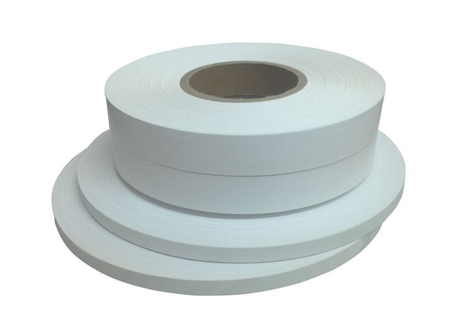Текстильная лента нейлон 55 мм х 200 м (белая)
