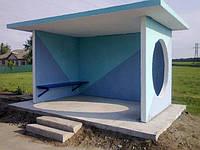 Автобусная остановка железобетонная АП-10