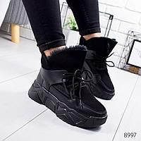 Ботинки женские Sterm черные 8997, фото 1