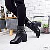 Ботинки женские Cheris черные 8999
