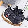 Ботинки женские Minoq черные 9040