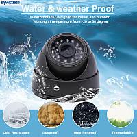 Камера муляж купольная A28, Купольная камера видеонаблюдения муляж, Камера обманка A28, Видеокамера муляж, Имитация камеры