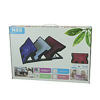Подставка охлаждающая для ноутбука N88, Подставка для ноутбука, Охлаждающая подставка под ноутбук