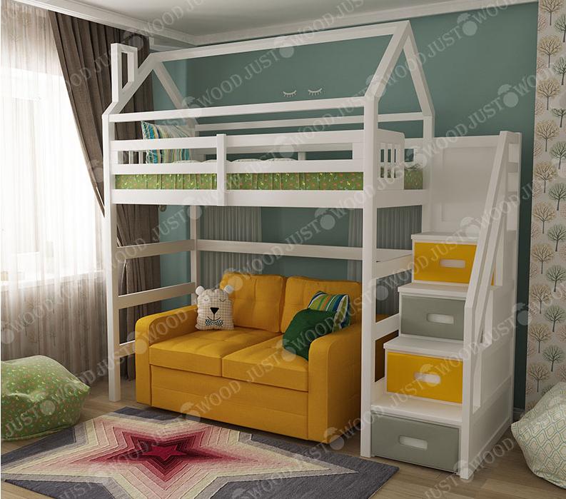 Кровать-чердак «Аладдин» JUSTWOOD