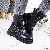 Ботинки женские Irenix черные 9192, фото 1