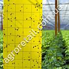 Клеевая ловушка от насекомых Sticky Trap желтая 25x40 см, фото 2