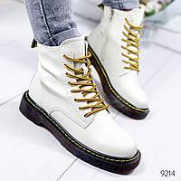 Ботинки женские Renni белые 9214, фото 1