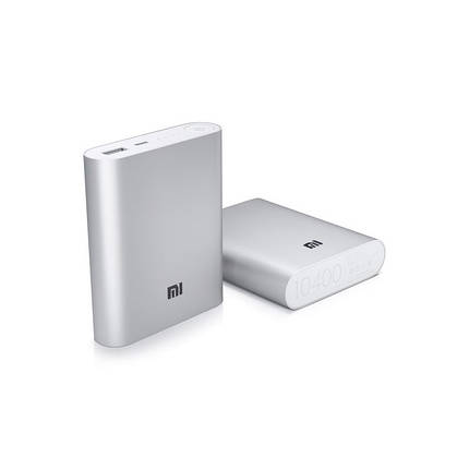 Power Bank Xiaomi Mi 10400-4800 mAh с индикатором, фото 2