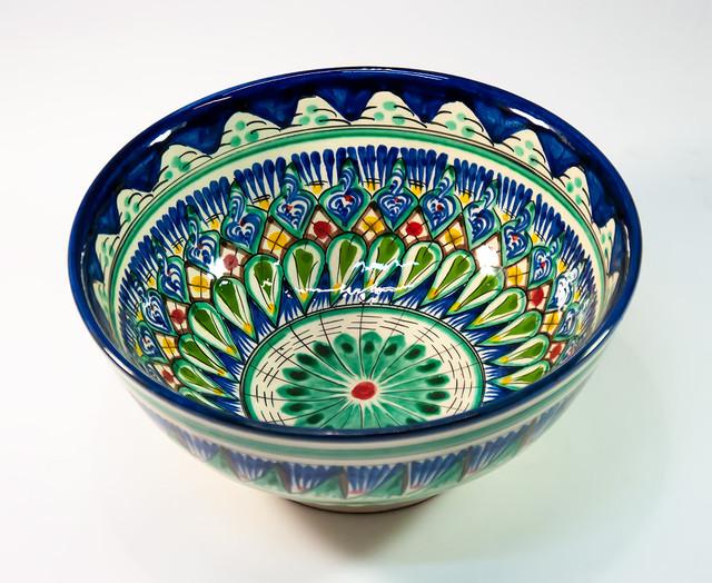 Узбекские пиалы, глубокие миски, салатники