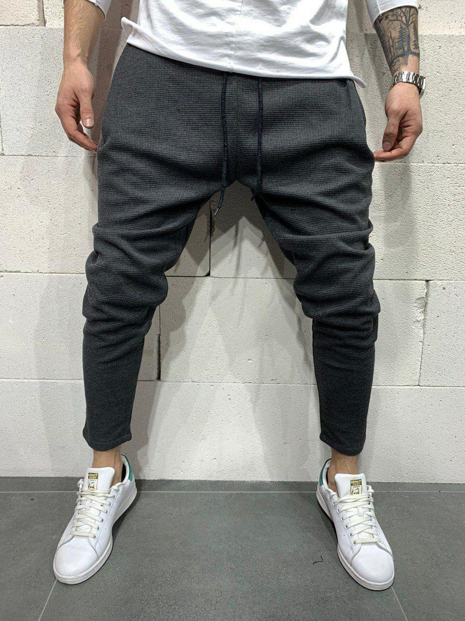 Мужские брюки 2Y Premium P1071 antracit