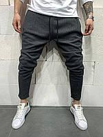 Мужские брюки 2Y Premium P1071 antracit, фото 1