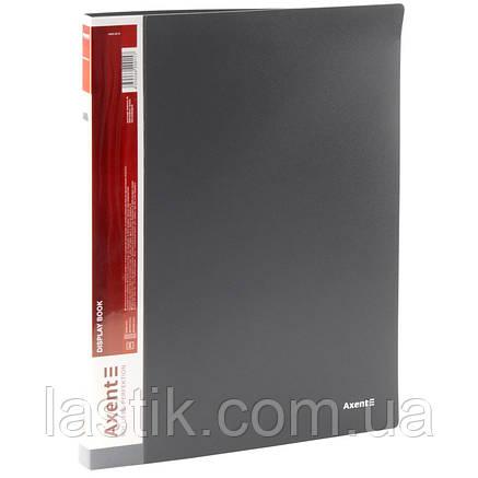 Дисплей-книга 20 файлів А4 (чорний), фото 2