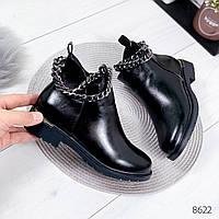 Ботинки женские Terry черные 8622, фото 1