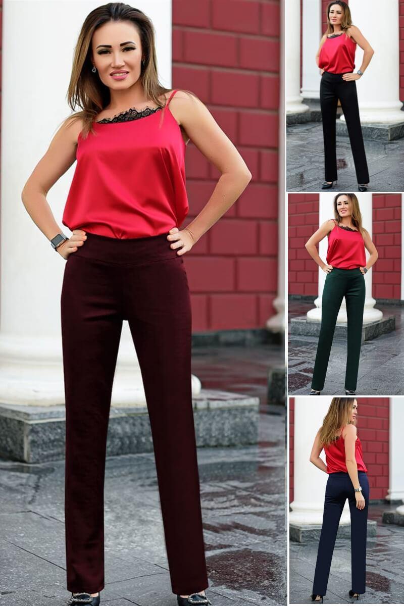 Класичні жіночі брюки Баді