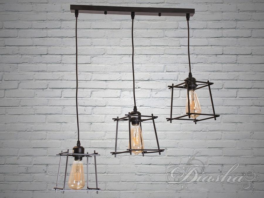 Светильник-подвес в стиле Loft 1071/3A