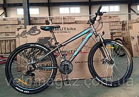"""Велосипед Extreme 24"""" рама 13"""", GFRD горный,  серый"""