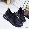 Кроссовки женские N черные 9429