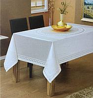 Скатертина тефлон Maison Royale 160*220 Jasmin White
